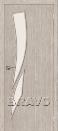 Межкомнатная дверь 3D-Graf серии Master Мастер-10 3D Cappuccino