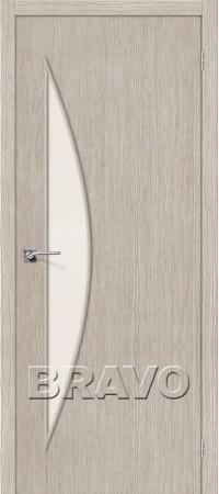 Межкомнатная дверь 3D-Graf серии Master Мастер-6 3D Cappuccino