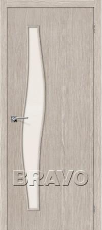 Межкомнатная дверь 3D-Graf серии Master Мастер-8 3D Cappuccino