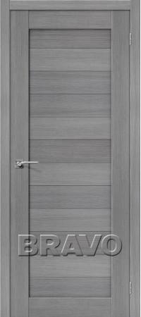 Межкомнатная дверь 3D-Graf серии Porta-X Порта-21 3D Grey