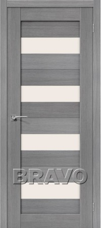 Межкомнатная дверь 3D-Graf серии Porta-X Порта-23 3D Grey