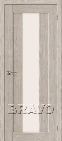 Межкомнатная дверь 3D-Graf серии Porta-X Порта-25 alu 3D Cappuccino