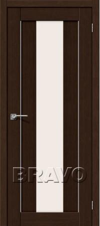 Межкомнатная дверь 3D-Graf серии Porta-X Порта-25 alu 3D Wenge