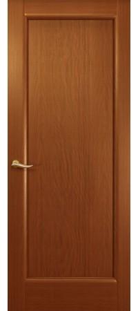 """Межкомнатная дверь """"Новая волна"""" (Гл.) Красное дерево"""