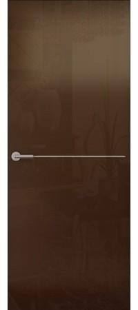 Межкомнатная дверь серии Italy Avorio-1 (гл.) Глянец белый