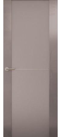 Межкомнатная дверь серии Italy Avorio-1 (Стек. матовое) Глянец винтаж
