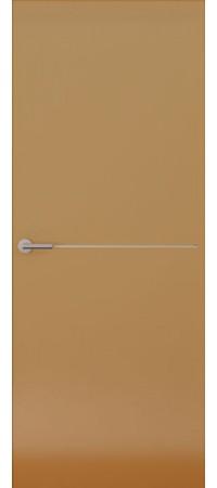 Межкомнатная дверь серии Italy Avorio-1 (гл.) Глянец мокко