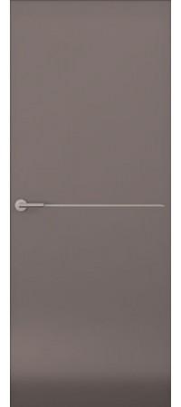 Межкомнатная дверь серии Italy Avorio-1 (гл.) Матовый графит
