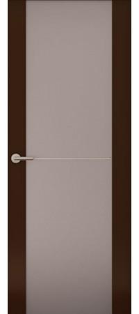 Межкомнатная дверь серии Italy Avorio-1 (Стек. матовое) Матовый винтаж