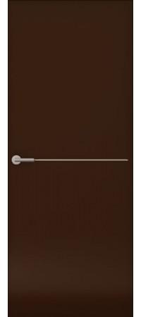 Межкомнатная дверь серии Italy Avorio-1 (гл.) Матовый винтаж