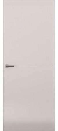 Межкомнатная дверь серии Italy Avorio-1 (гл.) Матовый белый
