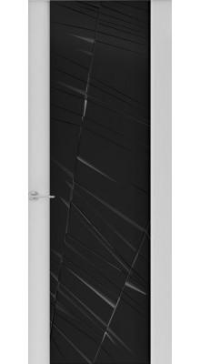 Capri-2 (стек. черное) Глянец серый