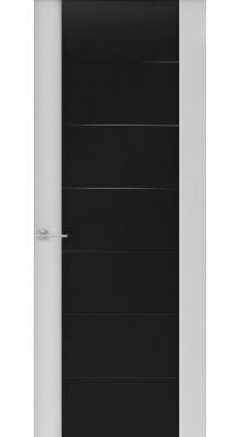 Capri-3 (стек. черное) Глянец серый