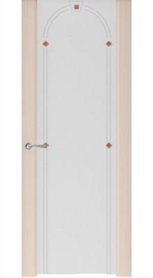 Murano-3 (стек. белое) Ясень капучино