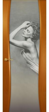 """Межкомнатная дверь  серии Prestige Буревестник-2 Анегри """"Амели""""(ст)"""