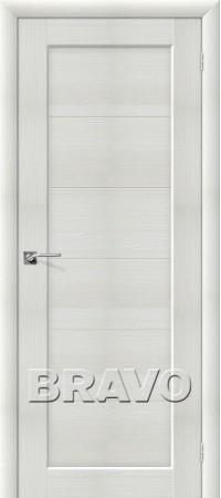 Межкомнатная дверь из Эко Шпона серии Aqua Аква-1 Bianco Veralinga