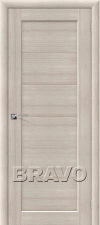 Межкомнатная дверь из Эко Шпона серии Aqua Аква-1 Cappuccino Veralinga