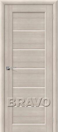 Межкомнатная дверь из Эко Шпона серии Aqua Аква-2 Cappuccino Veralinga