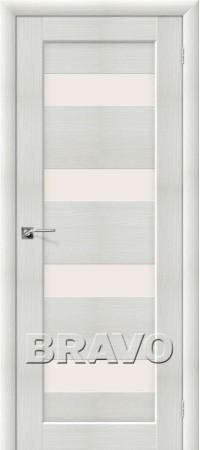 Межкомнатная дверь из Эко Шпона серии Aqua Аква-3 Bianco Veralinga