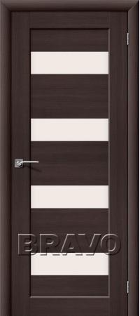 Межкомнатная дверь из Эко Шпона серии Aqua Аква-3 Wenge Veralinga