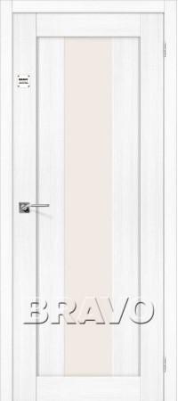 Межкомнатная дверь серии Porta X - Порта-25 alu Snow Veralinga