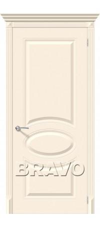 Межкомнатная дверь серии Flex с отделкой эмалью Джаз К-14 (Крем)
