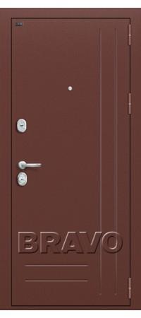 Входная металлическая дверь класс Премиум - Р2-200 П-1 (Темный Орех)