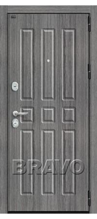 Входная металлическая дверь класс Премиум - Р3-303 (92мм) П-27 (Серый Дуб)