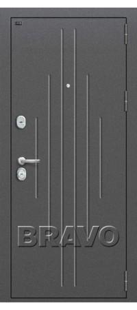 Входная металлическая дверь класс Премиум - Р2-205 П-25 (Беленый Дуб)