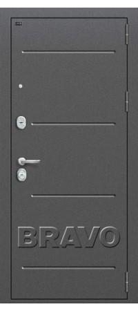 Входная металлическая дверь класс Премиум - Р2-206 П-25 (Беленый Дуб)