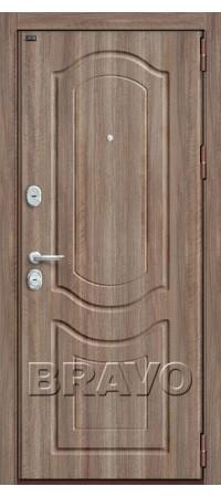 Входная металлическая дверь класс Премиум - Р3-300 П-1 (Темный Орех)