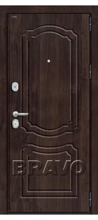 Входная металлическая дверь класс Премиум - Р3-301 (94мм) П-28 (Темная Вишня)
