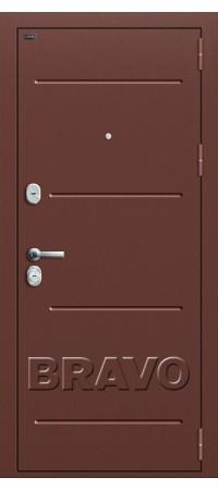 Входная металлическая дверь класс Премиум -Т2-221 (88 мм) Wenge Veralinga