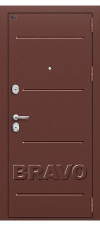 Входная металлическая дверь класс Премиум - Т2-204 Wenge Crosscut