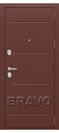 Входная металлическая дверь класс Премиум - Т2-223 (95 мм) Wenge Veralinga/Black Star