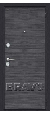 Входная металлическая дверь класс Премиум - Т3-300 Black Wood