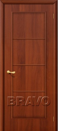 Межкомнатная дверь Ламинированная Серия 10 10Г Л-11 (ИталОрех)