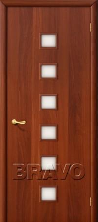 Межкомнатная дверь Ламинированная Серия 10 1С Л-11 (ИталОрех)