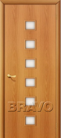 Межкомнатная дверь Ламинированная Серия 10 1С Л-12 (МиланОрех)