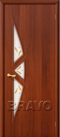 Межкомнатная дверь Ламинированная Серия 10 15Ф Л-11 (ИталОрех)