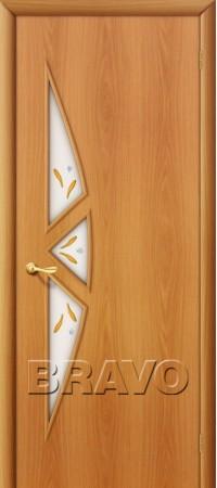 Межкомнатная дверь Ламинированная Серия 10 15Ф Л-12 (МиланОрех)