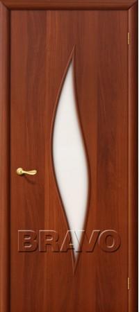 Межкомнатная дверь Ламинированная Серия 10 12С Л-11 (ИталОрех)