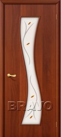 Межкомнатная дверь Ламинированная Серия 10 11Ф Л-11 (ИталОрех)