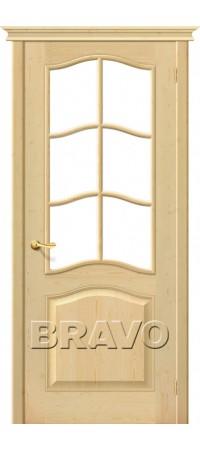 Межкомнатная дверь из массива без отделки М7 (без стекла)