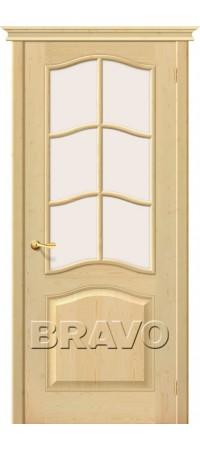 Межкомнатная дверь из массива без отделки М7 Без отделки