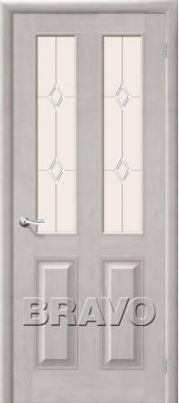 Межкомнатная дверь из массива Классическая Тассо-2Т-50 (Венге)