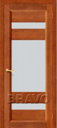 Межкомнатная дверь из массива Классическая М2Т-05 (Светлый Лак)