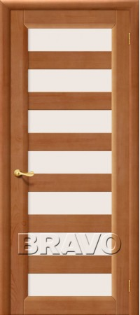 Межкомнатная дверь из массива Классическая М5Т-06 (Темный Лак)