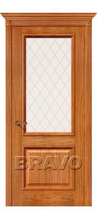 Межкомнатная дверь натуральный шпон серии Элит - Шервуд Д-10 (Золотой Дуб)