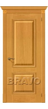 Межкомнатная дверь натуральный шпон серии Wood Classic -Вуд Классик-12 (Гранд) Natur Oak